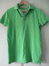 mens HOLLISTER GREEN COTTON POLO SHIRT SIZE SMALL
