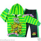 TMNT Ninja Turtles boys fleece outfit winter jacket hoodie pants set size 2-8