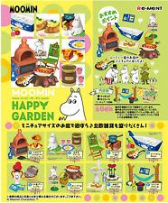 Miniatures MOOMIN HAPPY GARDEN complete box set - Re-ment  , #1ok