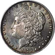 1878 Morgan Silver Dollar. 7/8 Tailfeathers. VAM-41A. Weak, 7/4 Tai... Lot 91381