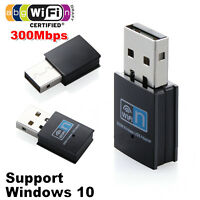 300Mbps Mini USB WiFi Dongle 802.11 B/G/N Wireless Network Adapter for Laptop PC
