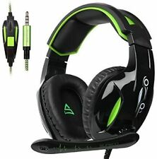 SUPSOO G813 New Xbox one Gaming Headset 3.5m Wired Over Ear PS4 Noise Cancelling