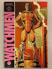 Watchmen #8 Signed by Dave Gibbons 1987 DC Comics HBO AUTOGRAPHED Rorschach