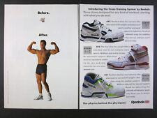 cb794045f8cf 1989 Reebok AXT SXT CXT Cross-Training Shoes vintage print Ad