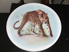 "White Stone ""Cheetah"" Decorative Wall Plaque"
