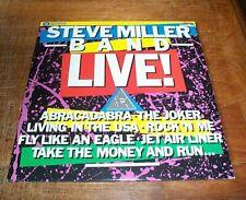 STEVE MILLER BAND LIVE! - FS Laserdisc