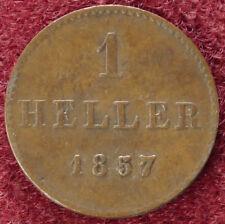 Frankfurt 1 Heller 1857 (D2208)