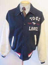 College Popper Woolen Waist Length Coats & Jackets for Men