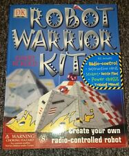 DK Robot Warrior Kit David Eckold Robot Wars remote controlled age 8+