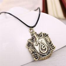 Harry Potter Magic School Slytherin Logo SNAKE Necklace & pendants Vintage GIFT