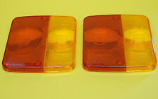 FREE 1st Class Post -2  Radex Replacement Lens for 4 Function Rear Trailer Lamp