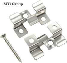 More details for 100 composite decking stainless steel hidden fixings and screws, t clips