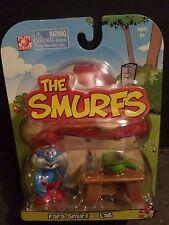 THE SMURFS- PAPA SMURF WITH LAB