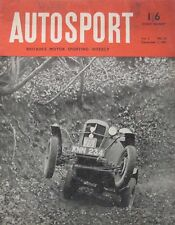 AUTOSPORT magazine 7/12/1951 Vol.3, No.23