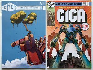 GIGA #1 Cover A + Cover B Variant   Near Mint+   VAULT COMICS 2020