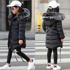0e762e022cf1 Girls Black Padded Jacket in Coats