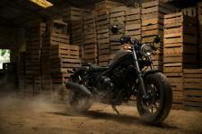 G1418 Honda CMX 500 Rebel Base 2018 Motorcycle Bike Laminated Poster FR