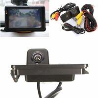 Rear View Reverse Camera Night Vision For VW Golf MK4 MK5 MK6 Passat CC 4D Bora
