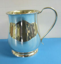 Sterling Silver Cup with Handle pattern 554 -- Free Shipping *