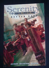 Serenity Vol.2 Better Days Dark Horse Graphic Novel Joss Whedon VF/NM