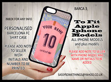 Personalised Barcelona Football Phone Case Mobile APPLE I-Phone Cover Case