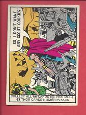 1966 DONRUSS Marvel Superheroes # 63 THOR