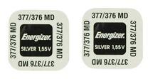 ENERGIZER  Lot de 2 Piles  377 376 SR626SW LR626 AG4 GS4  SR66 - 1,55v