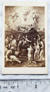 Carte-de-visite No. 94 Raphael, Himmelfahrt Christi La transfiguration