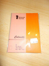 Röss... Coloretti Karten B6 Apfelsine im 5er Pack ungefalzt zum Selbstgestalten Papierarbeiten