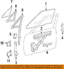 TOYOTA OEM 84-89 Pickup Front Door-Window Regulator 6980189107