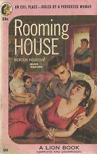Rooming House Berton Rouche 1953 GGA  Vintage Paperback Very Good