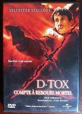 "(H7)DVD - D-TOX - Sylverter Stallone - ""Compte a rebours mortel"""