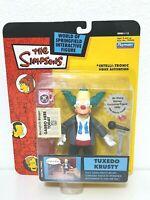Playmates The Simpsons TUXEDO KRUSTY Figure World of Springfield Series 13