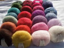 Rowan Kidsilk Haze x 25g balls 70% Mohair, 30% Silk MANY COLOURS