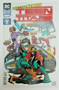 Teen Titans #20 - 1st Ptg DC COMICS 2018 1ST FULL APP of Crush, Djinn,Roundhouse