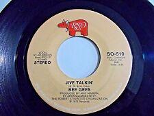 Bee Gees Jive Talkin' / Wind Of Change 45 1975 RSO Vinyl Record