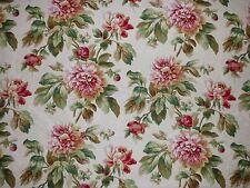 Mill Creek Raymond Waites ANTEBELLUM Floral PEARL Drapery Jacquard Sew Fabric