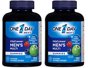 One A Day Men's Vitacraves, 150 Count (2 Pack)