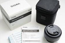 Sigma 30mm F1.4 DC HSM Art (Nikon mount)