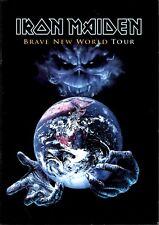 IRON MAIDEN 2000 BRAVE NEW WORLD TOUR CONCERT PROGRAM BOOK / NMT 2 MINT