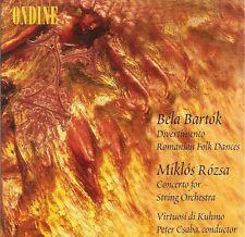Bartók-Divertimento • Romanian Folk Dances / Rózsa-Concerto for String Orchestra