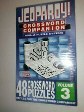 The New York Times Crossword Companion Roll-A-Puzzle Refill 48 Volume 3 Jeopardy