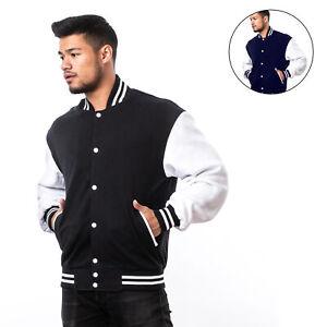 Vintage College Jacke Varsity Jacket Baseball Jacke Rockabilly Sweatjacke Unisex