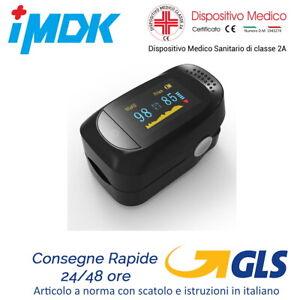 Saturimetro Da Dito Ossimetro Misuratore Ossigeno Pulsossimetro Certificato CE