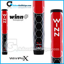 "Winn Pro X 1.60"" Giant Paddle Lite Putter Grip - Red / Black / White"