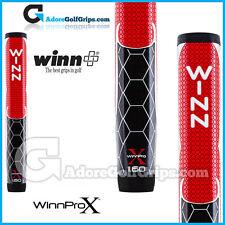 "WINN Pro X 1.60 ""GIGANTE TONDA LITE Putter Grip-Rosso / Nero / Bianco"