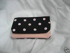 Wallet Pocket type Handmade  larger pocka dot material