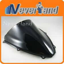 D/ Bubble Windscreen Windshield for Suzuki GSXR 600 750 K6 2006-2007 06 07 Black