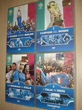 OPERA COMPLETA 4 DVD ITALIA CAMPIONE DEL MONDO 2006 GERMANY CAMPIONI GERMANIA 06