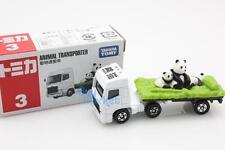 NEW Takara Tomica Tomy #3 ANIMAL PANDA TRANSPORTER Diecast Toy Car Japan